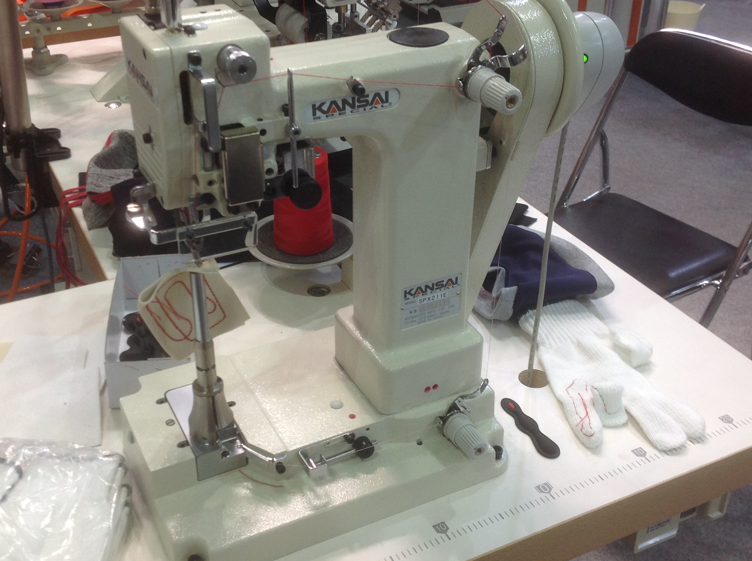 Kansai Special SPX small post bed machine